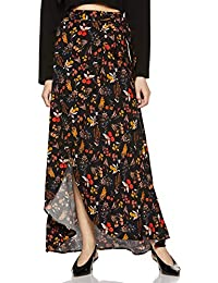 DJ&C By fbb Women's Asymmetric Maxi Skirt