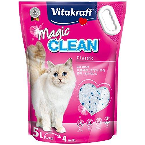 Vitakraft Magic Clean, Katzenstreu, 5 Liter (1 x 2,2 kg)