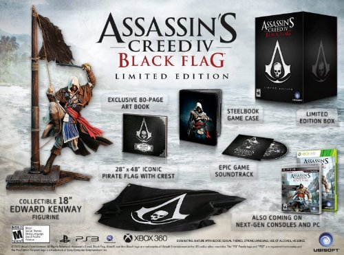 Assassin's Creed IV: Black Flag – Limited Edition (Xbox One) 51 0t7840BL