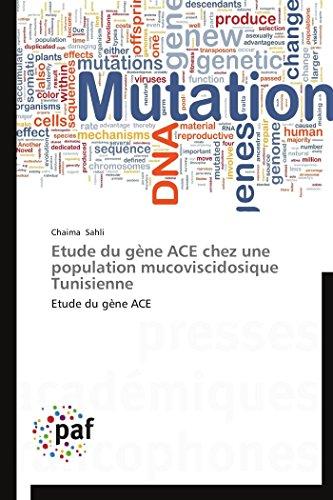 Etude du gène ace chez une population mucoviscidosique tunisienne par Chaima Sahli