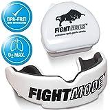Profi Sport Mundschutz (2019) - Verbesserte Luftkanäle für mehr Kondition - Komfort und sicherer Halt im Kampfsport, Boxen, MMA, Kickboxen, American Football, Hockey - für Erwachsene, Kinder (+11)