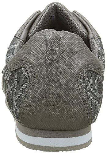 Calvin Klein George, Baskets mode homme Gris (Ppe)
