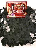 Forum Novelties Pailetten Flapper Kostüm Handtasche schwarz