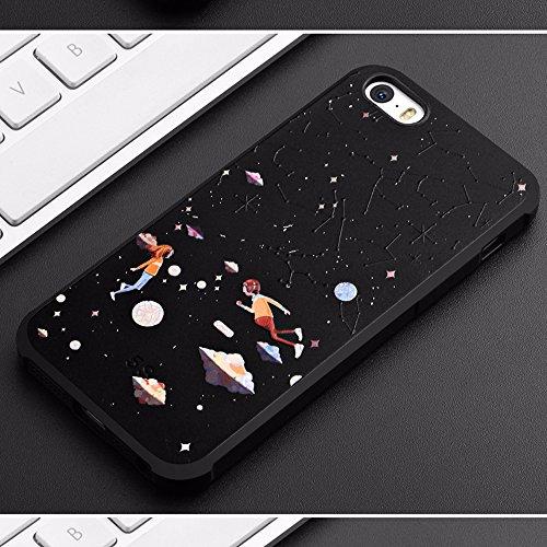 UKDANDANWEI Apple iPhone 5S [QKS] TPU Souple Housse de Protection Case Téléphone Pour Apple iPhone 5S - Style(08) Style(09)