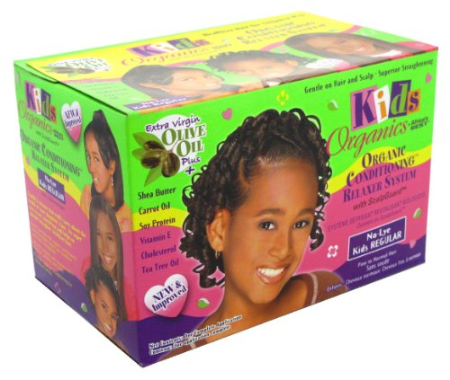 Africa's Best Défrisant Kids Organics Kit cheveux normaux