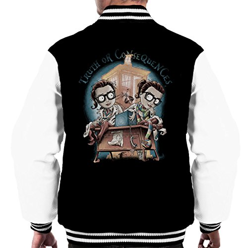 Doctor Who Truth Or Consequences Men's Varsity Jacket