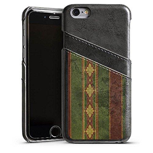 Apple iPhone 4 Housse Étui Silicone Coque Protection Mur Motif Motif Étui en cuir gris