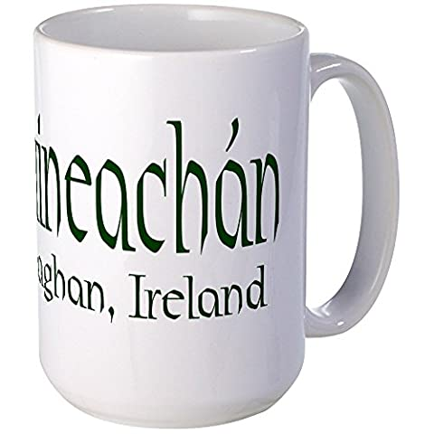 CafePress - County Monaghan (Gaelic) - Coffee Mug, Large 15 oz. White Coffee Cup