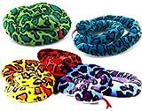 1 x Schlange aus Plüsch ca. 2m, 1 aus 5 Farben (sortiert)