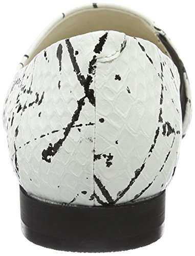 GERRY WEBER Ebru 04, Mocassins Femme, Noir Multicolore (schwarz-kombi)