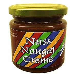 Xylit Nuss-Nougat-Creme (43,7% Haselnüsse) von LASOVLI (200 g) / Ohne Zuckerzusatz