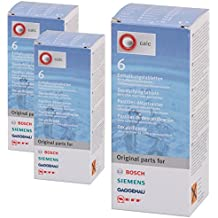 Bosch–Tabletas descalcificadoras para máquina de café Nespresso y hervidoras de agua (18unidades)