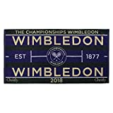 Wimbledon 2018 on Court Herren Tennis Handtuch von Christy Uk 132 Jahre Wimbledon