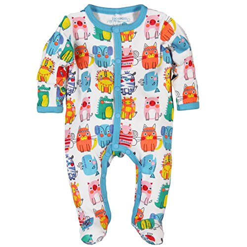 Boboli Knit Play Suit For Baby, Ghette Unisex-Bimbi, Mehrfarbig (Print 9408), 9 mesi