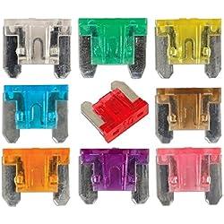 Micro Fusibles de cuchilla 9pc Surtido Pack–Coche eléctrico de repuesto soplado fusibles