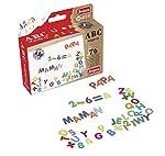 Imanes ABC y NUMEROS - Caja con 75 caracteres