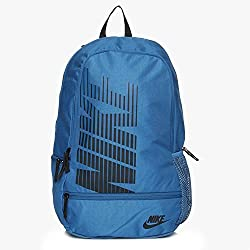 NIKE CLASSIC NORTH CASUAL BACKPACK (INDLBL/BLACK)