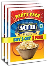 Act II Instant Popcorn Party Pack, Butter Delite, 3x150g (Buy 2 Get 1 Free)