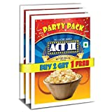 #4: Act II Instant Popcorn Party Pack, Butter Delite, 3x150g (Buy 2 Get 1 Free)