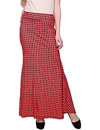 Franclo Women's polka dot flarey Skirt (best fit 28-34 waist)