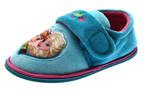 Disney - Sandali con Zeppa da ragazza' , blu (Blue - Frozen Fever), 28 EU Infants