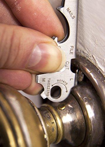 Schaben - Bund - Universal Werkzeug am Schlüsselbund - Schlüsselwerkzeug kaufen - Schlüsselbund Werkzeug kaufen - Mini Werkzeug kaufen