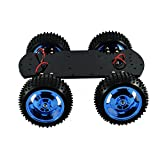 Sparkykit 4WD All-Metal Chassis, High Torque Motor Smart Car Robot ARDUINO