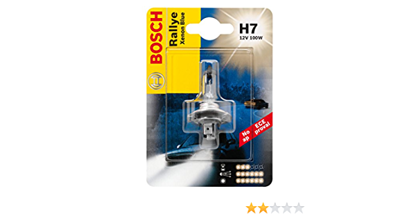 Bosch 1987301094 Glühlampe Rallye Hochleistungslampe H7 12v 100w Px26d Anzahl 1 Auto