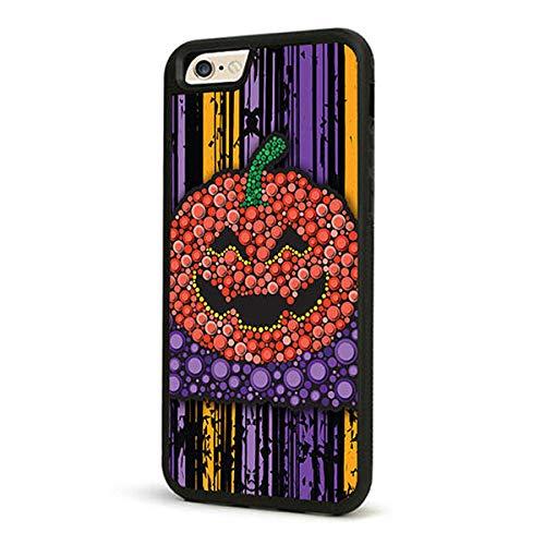 K8U128 @FATO modische Halloween-Fall-TPU weiche rückseitige Abdeckung für iPhone 6 Plus 6S Plus (Halloween Face Art Spiele)