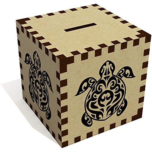 Azeeda 'Tortuga' Caja de Dinero / Hucha (MB00005684)