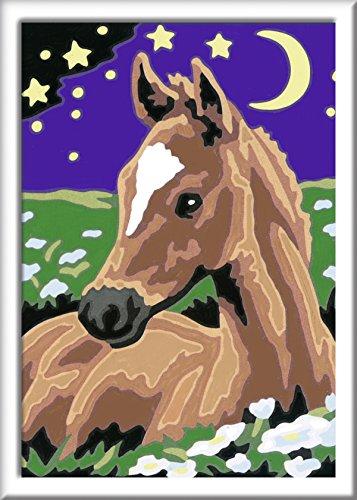 Ravensburger Malen Nach Zahlen 28507 Atelier Pferde Spielset Malset für Pferdefans