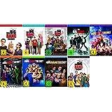 The Big Bang Theory Season / Staffel 1+2+3+4+5+6+7+8+9 * 1-9 / DVD Set / Alle 9 Staffeln