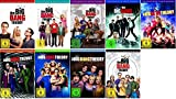 The Big Bang Theory Season / Staffel 1+2+3+4+5+6+7+8+9 * 1-9 / DVD Set / Alle 9 Staffeln