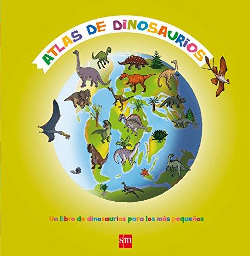 Atlas de dinosaurios por Natacha Fradin
