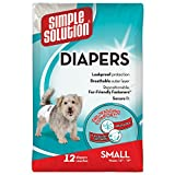 #6: Simple Solution Disposable Diapers, Small (12 Pack)