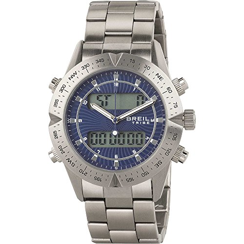 BREIL Uhren Tribe Digital Way Herren Blau - EW0394