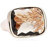 Bronzallure Damen-Ring Bronze rechteckig Rauchquarz Gewicht 11,6g Gr. 52 (16.6) WSBZ00009S-12