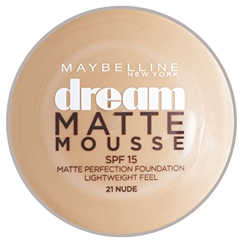 Maybelline - Dream matte mousse 21 nude - base maquillaje