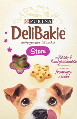 Delibakie Stars Hundesnack, 6er Pack (6 x 320 g)