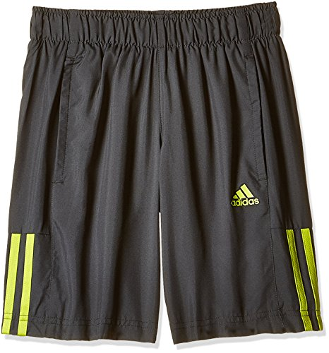 adidas Boys' Shorts (AC5362L_Dark Grey and Semi Solar Yellow_L)  available at amazon for Rs.719