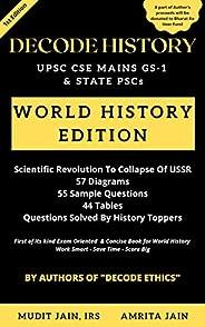 Decode History: UPSC Mains GS-1 World History