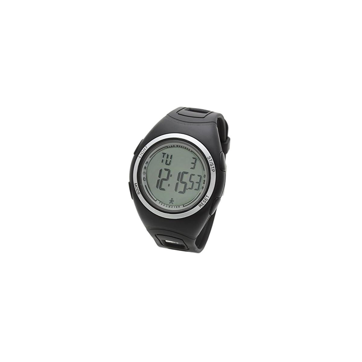51 14G39%2ByL. SS1200  - Lad Weather Podómetro Cronómetro Calorías Monitor de Actividad Física Reloj Running Fitness Deportes al Aire Libre