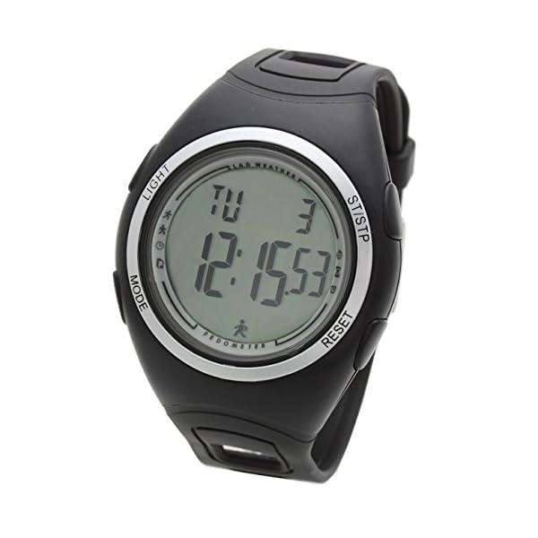 Lad Weather Podómetro Cronómetro Calorías Monitor de Actividad Física