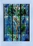 Artoz Kunstkarte Chagall: Baum des Lebens, Format B6, ein Set besteht aus Einlegeblatt, Kuvert und Karte - verpackt zu 6 Sets - Preis für 6 Sets