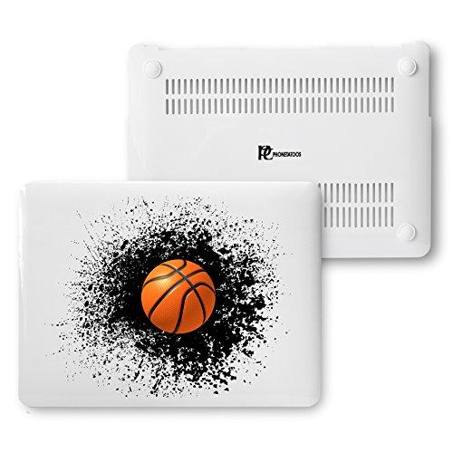 MacBook Air 13Fall, Kunststoff Hard Shell Snap On Schutzhülle für MacBook Air 33cm (A1466& A1369) 13 Inches Splash Basketball (In Macbook Fällen, Air Speck 13 Den In)
