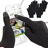 Jago Touchscreen Handschuhe Smartphone Touch Gloves Handy Display Winterhandschuhe - 2er Set