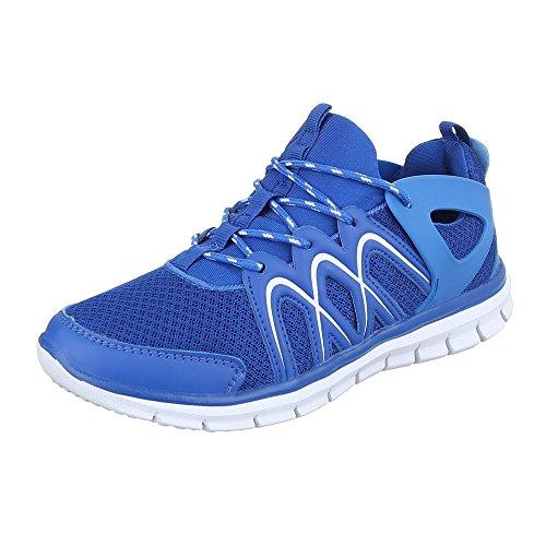 Ital-Design, Sneaker donna Blau