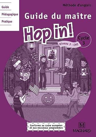 Anglais CM2 Hop in! : Guide du maître (2CD audio)