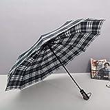 Paraguas Compacto y Resistente al Viento, Paraguas Plegable con...