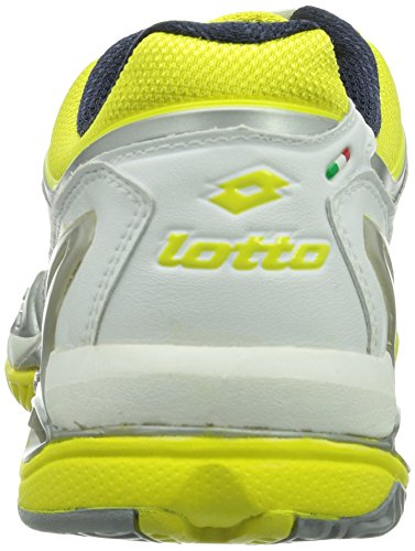 Lotto Sport - Raptor Ultra Iv Clay W, Scarpe da tennis Donna Multicolore (Mehrfarbig (WHITE/CHICK))